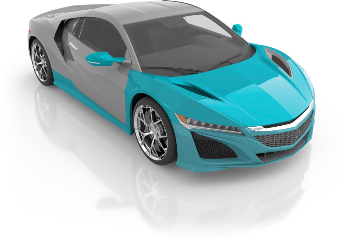 Coupe - Premium XL Front