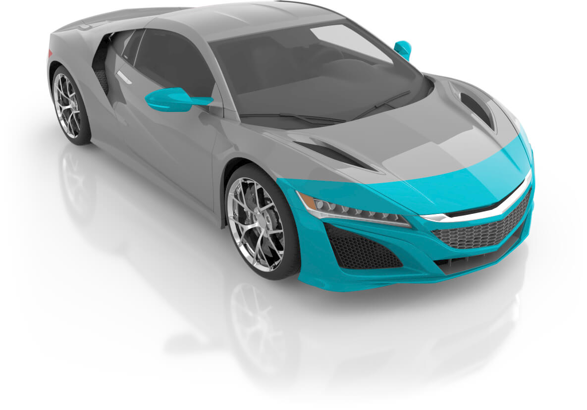 Coupe - Premium Front