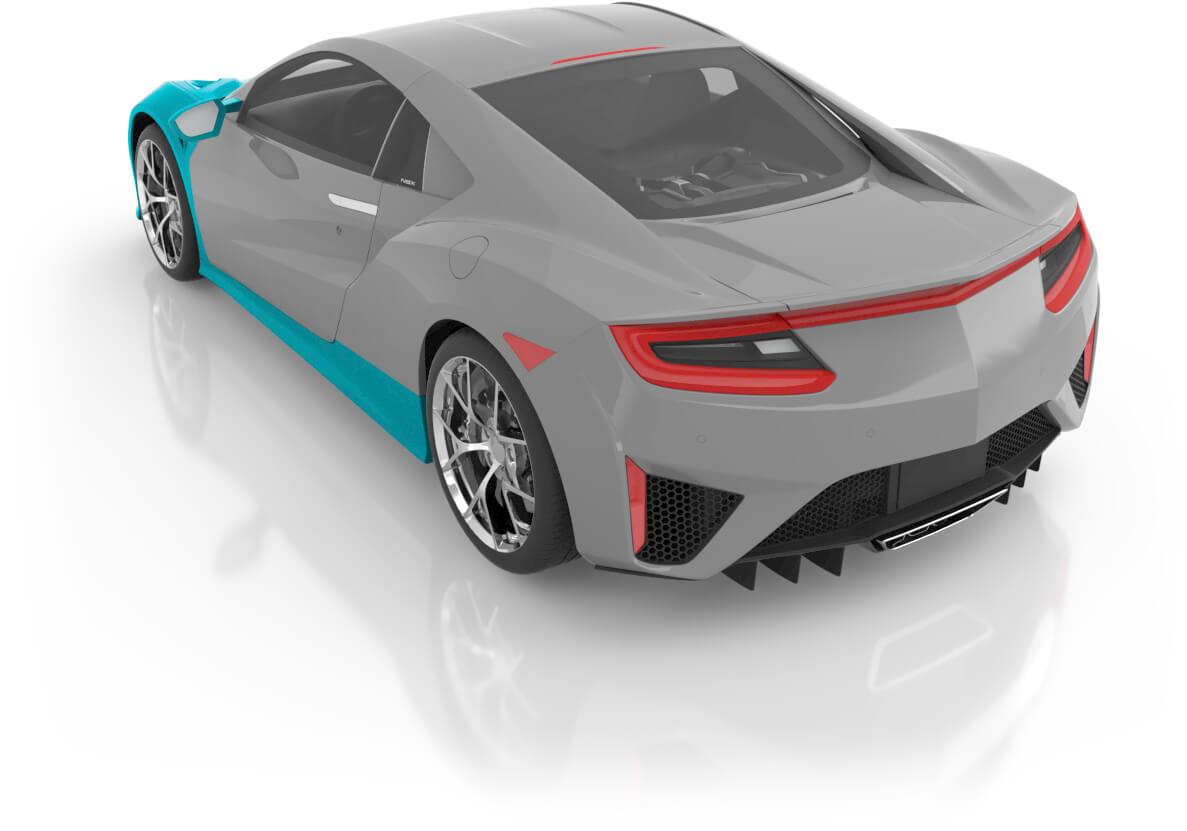 Coupe - Premium XL Back