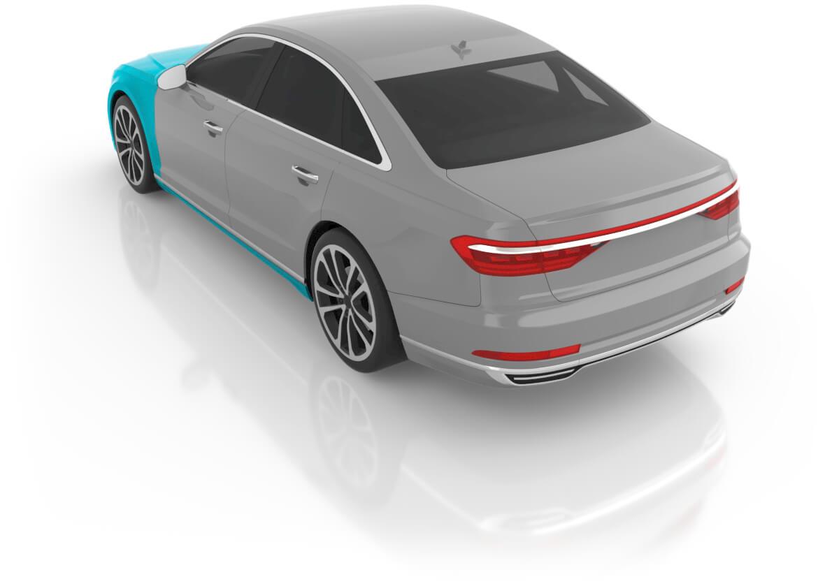 Large Sedan - Premium XL Back