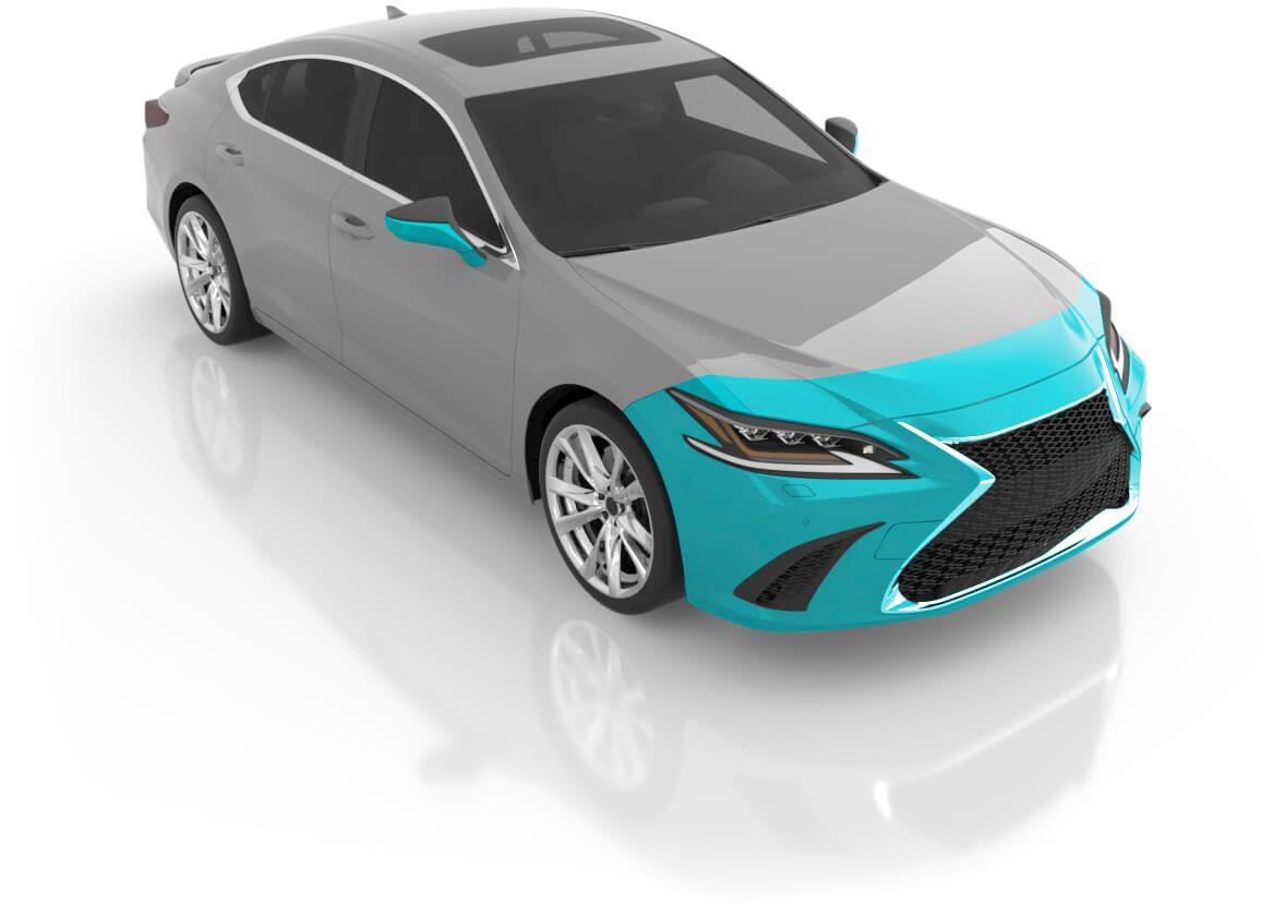 Sedan - Premium Front