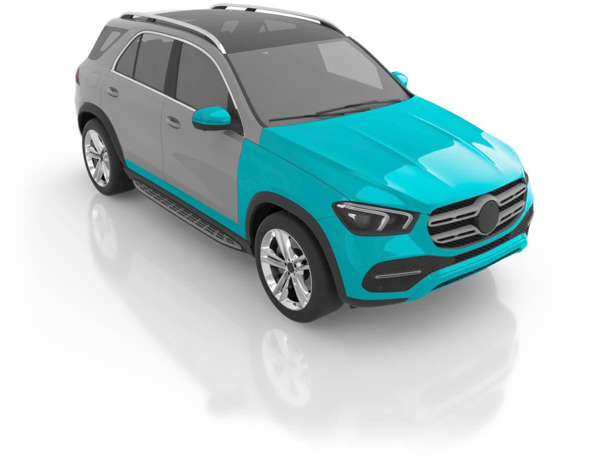 SUV - Premium XL Front
