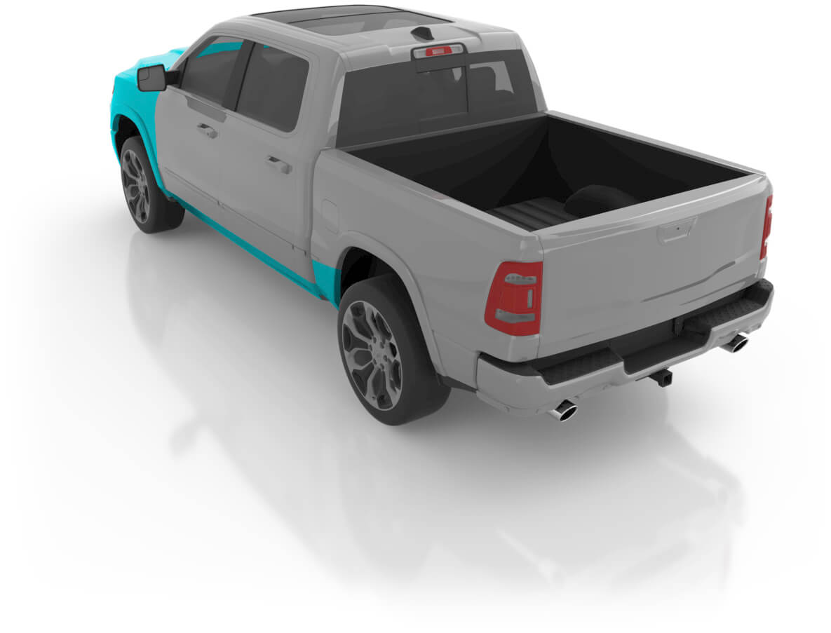 Truck - Premium XL Back