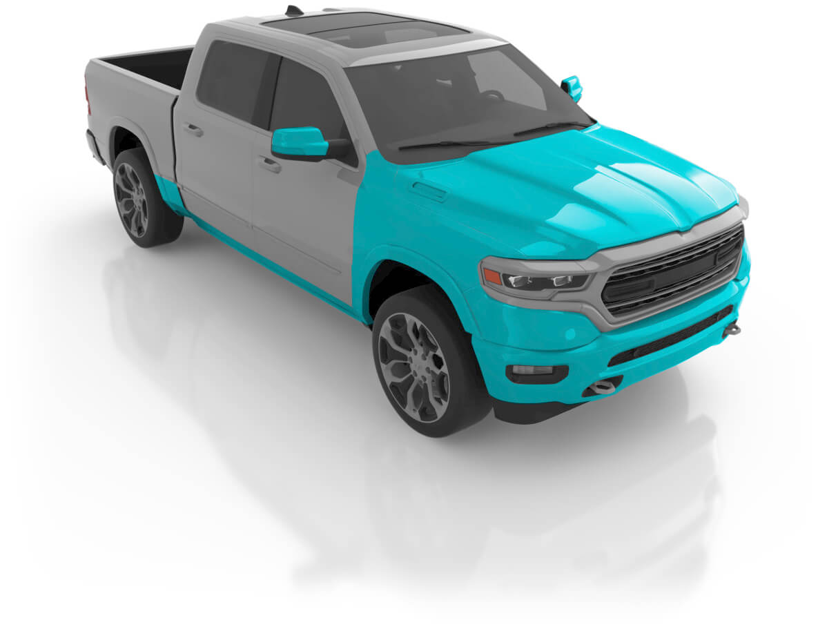 Truck - Premium XL Front