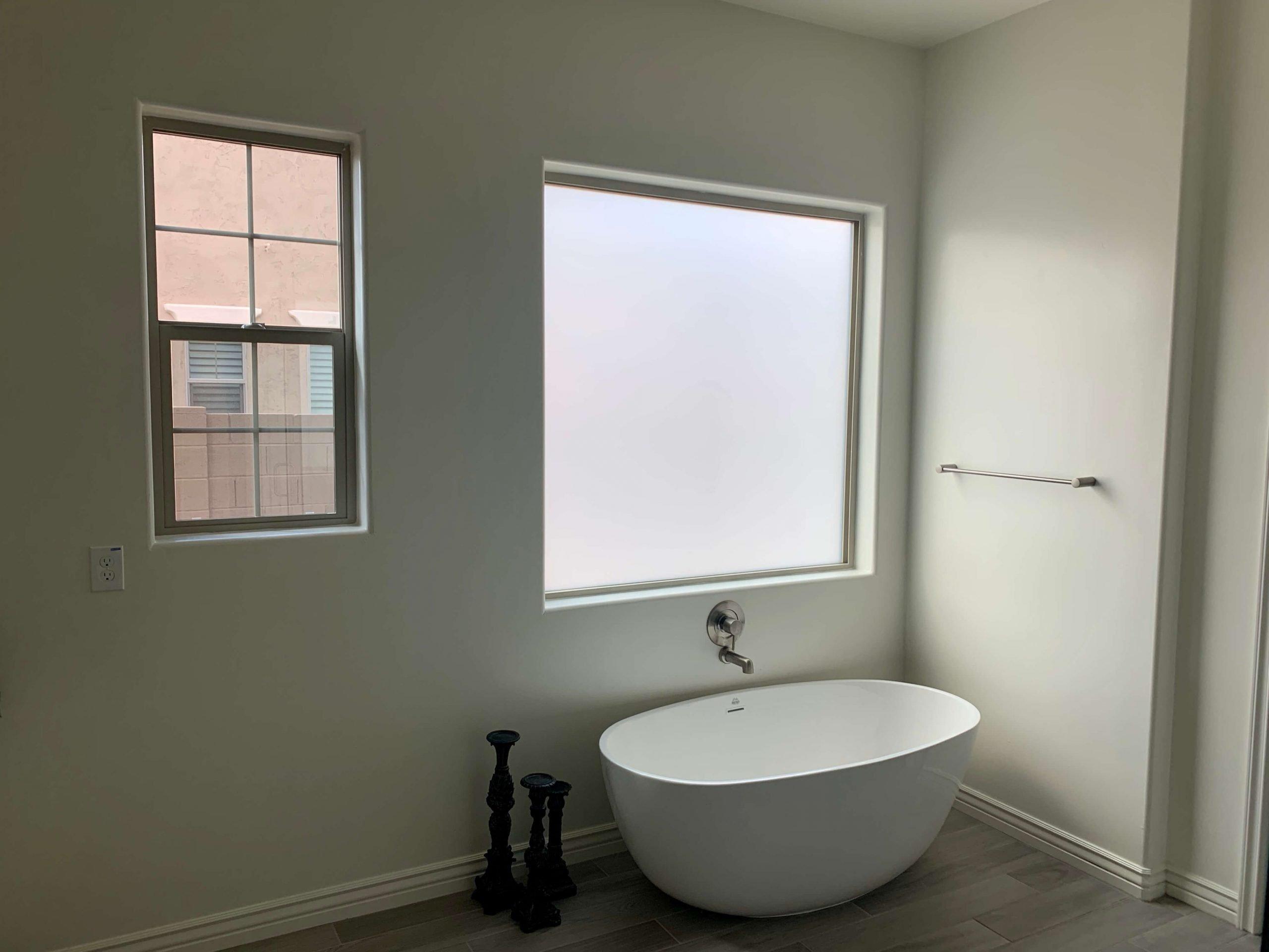 Bathroom Privacy Window Film
