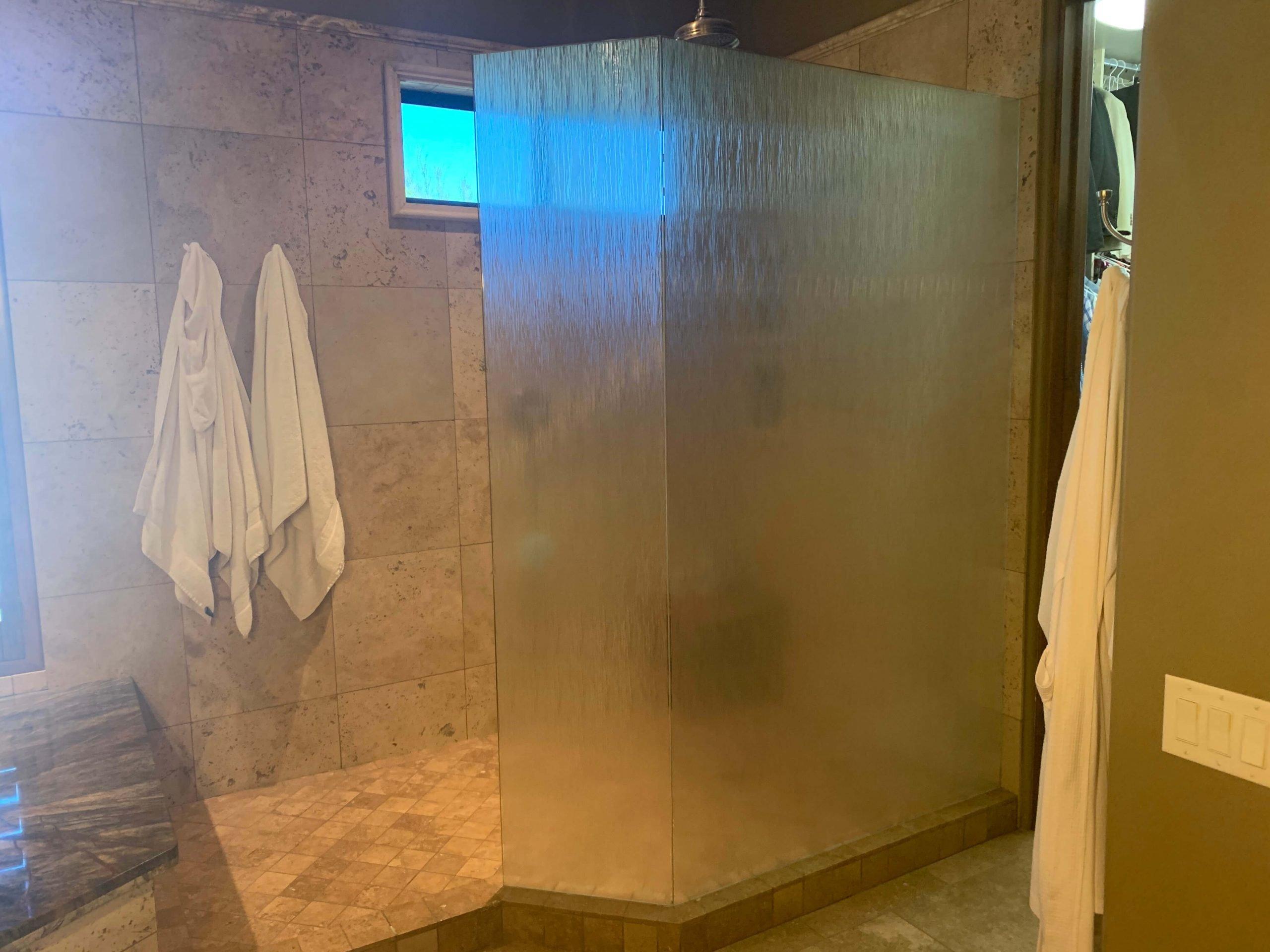 Bathroom Custom Privacy Glass