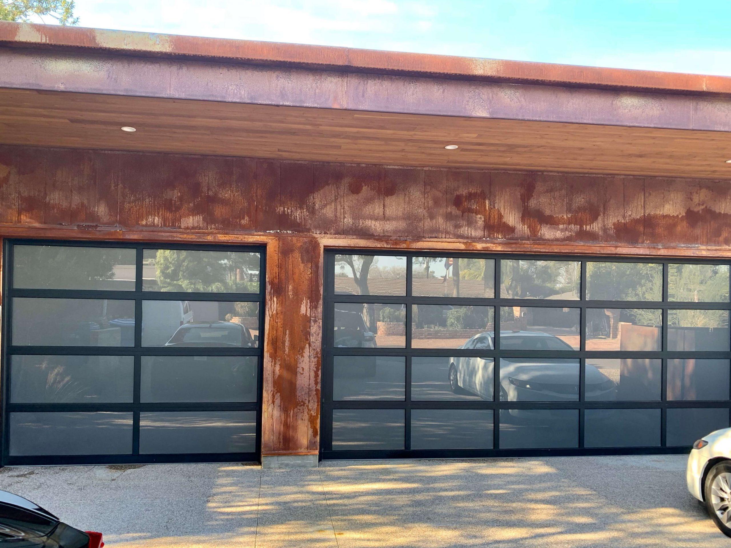 Frosted Garage Doors