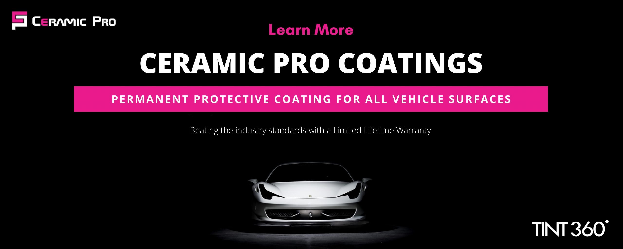 Permanent Protective Ceramic Coating for All Vehicle Surfaces